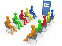 Negócio - aplicação de trabalho ilustração do vetor