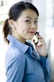 Negócio asiático fotografia de stock