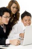 Negócio asiático foto de stock royalty free