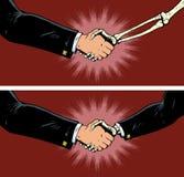 Negócio com morte ilustração do vetor