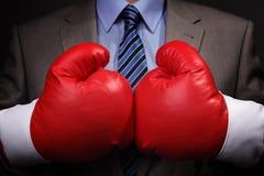 Negócio competitivo Imagem de Stock