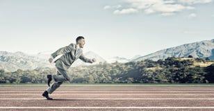 Negócio competitivo Imagem de Stock Royalty Free