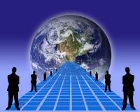 Negócio concept-9 Imagens de Stock Royalty Free