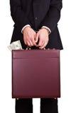 Negócio corrompido Imagens de Stock
