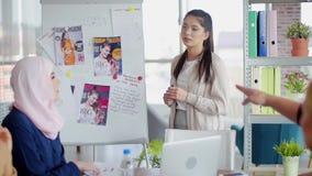 Negócio creativo video estoque