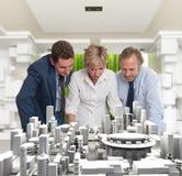 Negócio da arquitetura Imagens de Stock