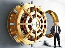 Negócio da segurança Imagens de Stock Royalty Free
