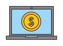 Negócio da tecnologia da aleta ilustração stock