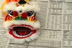 Negócio de China Imagens de Stock Royalty Free