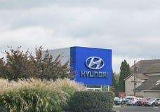 Negócio de Hyundai Motor Company fotografia de stock royalty free