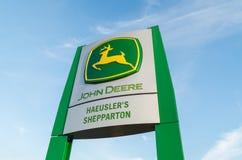 Negócio de John Deere em Shepparton, Austrália Foto de Stock