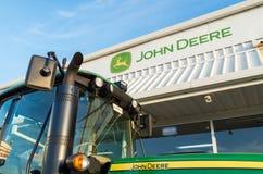 Negócio de John Deere em Shepparton, Austrália Imagem de Stock Royalty Free
