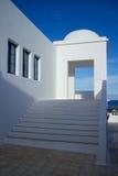 Negócio de Lanzarote que constrói 1 Foto de Stock Royalty Free