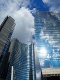 Negócio de Milão do centro, em maio de 2015 Imagens de Stock Royalty Free