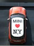 Negócio de Mini Cooper em Manhattan Fotos de Stock Royalty Free