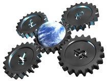 Negócio de mundo Imagens de Stock Royalty Free