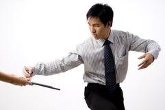 Negócio de negócio asiático Imagens de Stock