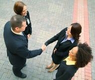 Negócio de negócio da diversidade Imagem de Stock Royalty Free