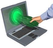 Negócio de negócio do Internet ilustração stock