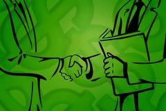 Negócio de negócio III ilustração royalty free