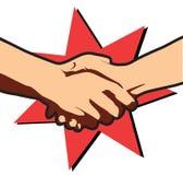 Negócio de negócio. Mãos do vetor ilustração do vetor