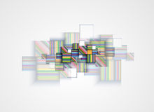 Negócio & desenvolvimento abstratos do fundo da tecnologia Foto de Stock Royalty Free