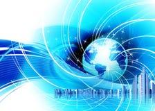 Negócio do globo do mundo Imagens de Stock Royalty Free