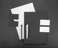 Negócio do molde para marcar Desi do molde da identidade corporativa imagem de stock