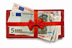 negócio do presente com fita do presente imagem de stock royalty free