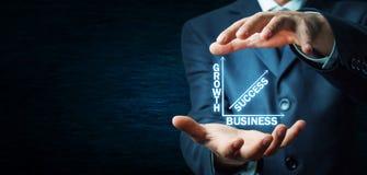 Negócio do sucesso do crescimento Imagens de Stock Royalty Free