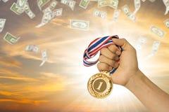 Negócio do vencedor Imagens de Stock Royalty Free