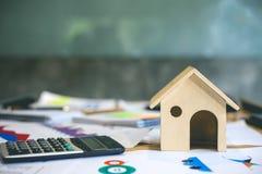 Negócio dos bens imobiliários fotografia de stock