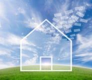 Negócio dos bens imobiliários Fotos de Stock Royalty Free