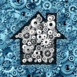 Negócio dos bens imobiliários Imagem de Stock
