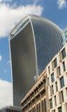 Negócio e distrito financeiro de Londres no Reino Unido imagem de stock