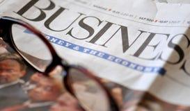 Negócio e a economia Imagens de Stock