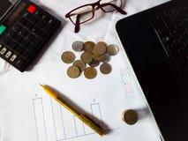 Negócio e finança foto de stock