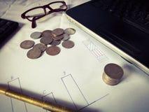 Negócio e finança imagem de stock