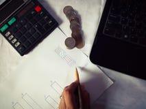 Negócio e finança fotografia de stock