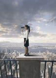 Negócio e futuro Imagem de Stock Royalty Free