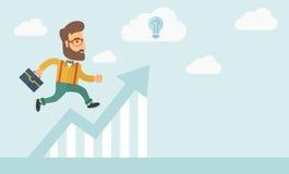 Negócio e ideias da perspectiva Fotografia de Stock