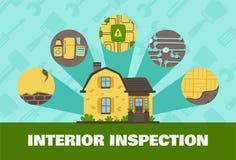 Negócio e interior liso da ilustração de Real Estate ilustração do vetor