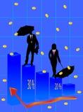 Negócio e mohey Fotografia de Stock