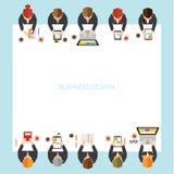 Negócio e projeto do vetor do escritório Imagem de Stock Royalty Free
