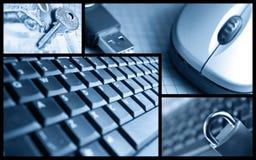 Negócio e segurança Fotos de Stock Royalty Free