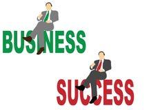 Negócio e sucesso Fotos de Stock Royalty Free