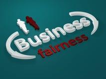 Negócio - equidade - letras Imagens de Stock Royalty Free