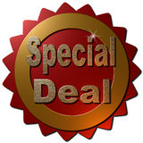 Negócio especial (selo) Imagens de Stock Royalty Free