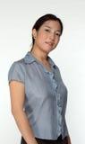 Negócio executivo asiático fêmea foto de stock