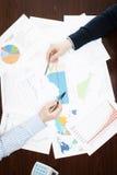 Negócio, finança e todas as coisas relativos Foto de Stock Royalty Free
